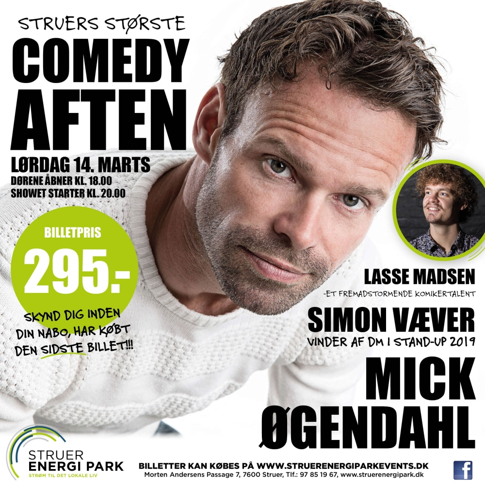 Comedy aften